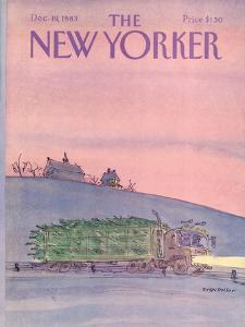 The New Yorker Cover - December 19, 1983 by James Stevenson