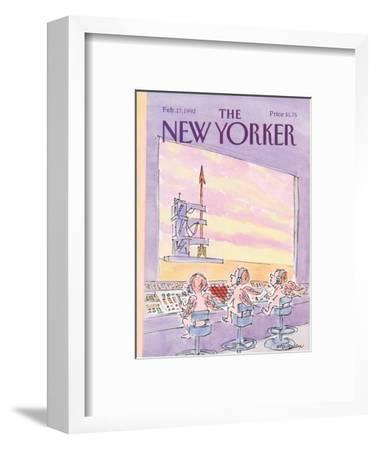 The New Yorker Cover - February 17, 1992