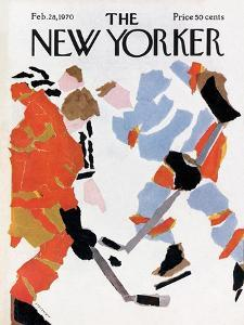 The New Yorker Cover - February 28, 1970 by James Stevenson