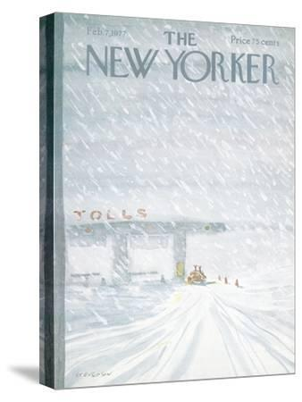The New Yorker Cover - February 7, 1977
