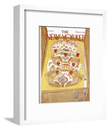 The New Yorker Cover - January 1, 1972