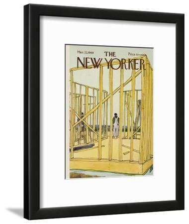 The New Yorker Cover - March 22, 1969