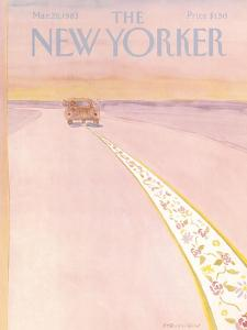 The New Yorker Cover - March 28, 1983 by James Stevenson