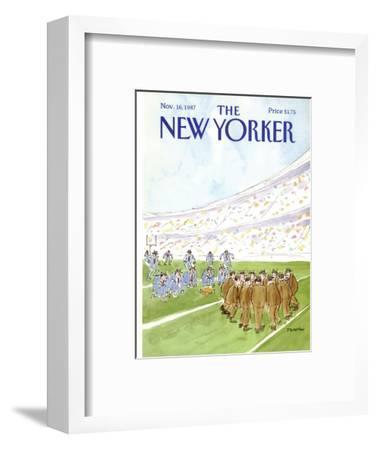 The New Yorker Cover - November 16, 1987