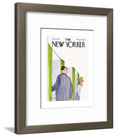 The New Yorker Cover - November 4, 1972