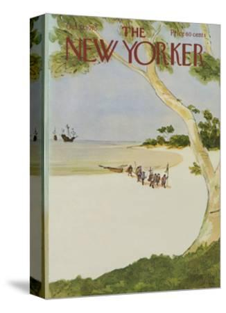 The New Yorker Cover - October 13, 1975