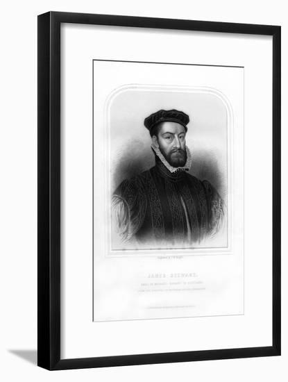 James Stewart, 1st Earl of Moray, Regent of Scotland-TW Knight-Framed Giclee Print