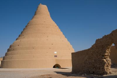 Ice house for preserving ice, Arbukuh, near Yazd, Iran, Middle East by James Strachan