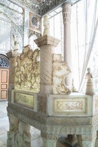 Ivan-e Takht-e Marmar (Marble Throne Verandah), Golestan Palace, UNESCO World Heritage Site, Tehran by James Strachan