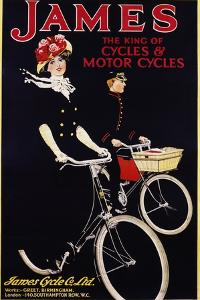 James - the King of Cycles and Motorcycles Poster