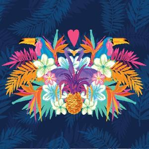 Vivid Tropical Love by James Thew
