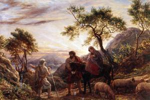 Flight Into Egypt by James Thomas Linnell