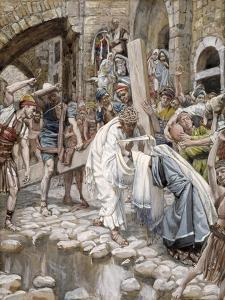 A Holy Woman Wipes the Face of Jesus, Illustration for 'The Life of Christ', C.1886-94 by James Tissot