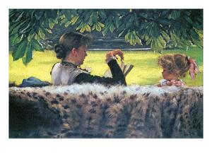 A Story Read by James Tissot