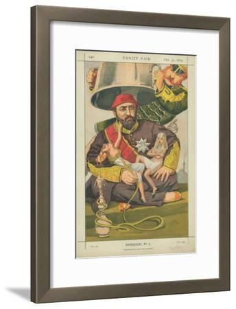 Abdul-Aziz, Sultan of Turkey, Ote-Toi De La Que Je M' Y Mette, 30 October 1869, Vanity Fair Cartoon