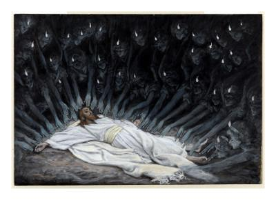 Angels Came and Ministered Unto Him, Illustration for 'The Life of Christ', C.1886-94