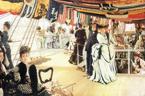 Ball on Board by James Tissot