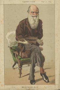 Charles Darwin by James Tissot