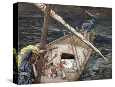 Christ Asleep During the Storm, Illustration for 'The Life of Christ', C.1886-94