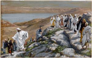 Christ Sending Out the Seventy Disciples, Two by Two by James Tissot
