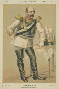 Count Von Bismarck-Schoenausen by James Tissot