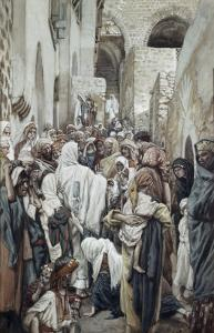 Healing of the Woman with an Issue of Blood by James Tissot