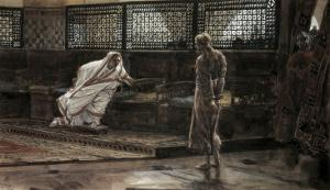 Jesus Before Pilate For the First Time by James Tissot