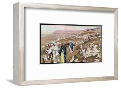 Jesus on His Way to Galilee, Illustration for 'The Life of Christ', C.1886-96