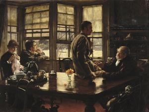 L'enfant prodigue : Le départ by James Tissot