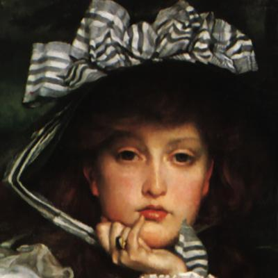 Lady in a Boat (detail)