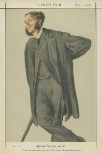 Mr Matthew Arnold by James Tissot