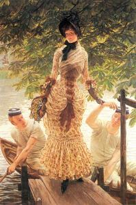 On the Thames by James Tissot