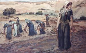 Ruth Gleaning by James Tissot