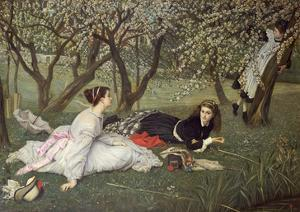 Spring, 1865 by James Tissot