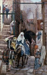 St. Joseph Seeks Lodging in Bethlehem, Illustration for 'The Life of Christ', C.1886-94 by James Tissot