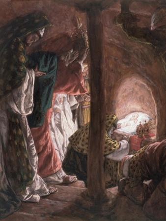 The Adoration of the Wise Men, Illustration for 'The Life of Christ', C.1886-94 by James Tissot