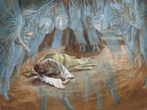 The Agony in the Garden, Illustration for 'The Life of Christ', C.1886-94 by James Tissot