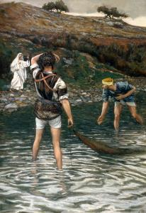 The Calling of St. Peter and St. Andrew, Illustration for 'The Life of Christ', C.1886-94 by James Tissot