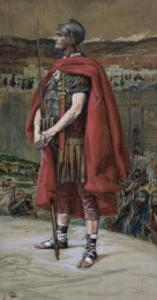 The Centurion, Illustration for 'The Life of Christ', C.1886-94 by James Tissot