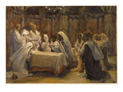 The Communion of the Apostles, Illustration for 'The Life of Christ', C.1884-96