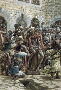 The Crown of Thorns by James Tissot