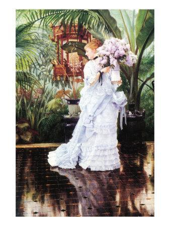 The elder Strauss by James Tissot Giclee Fine ArtPrint Reproduction on Canvas