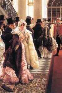 The Fashionable Woman by James Tissot