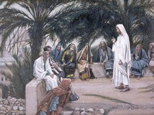The First Shall Be the Last, Illustration for 'The Life of Christ', C.1886-94 by James Tissot