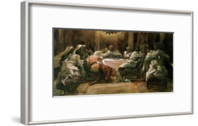 The Last Supper. Judas Dipping His Hand in the Dish