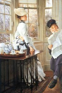 The Messages Read by James Tissot