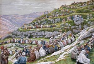 The Miracle of the Loaves and Fishes, Illustration for 'The Life of Christ', C.1886-94 by James Tissot