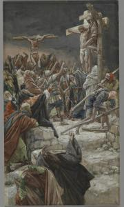 The Pardon of the Good Thief, Illustration from 'The Life of Our Lord Jesus Christ', 1886-94 by James Tissot