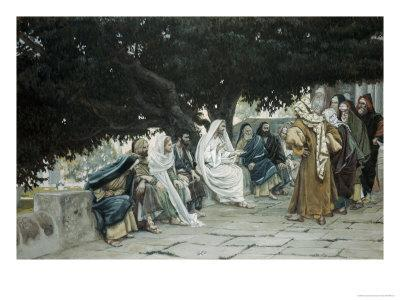 The Pharisees and Sadducees Come to Tempt Jesus