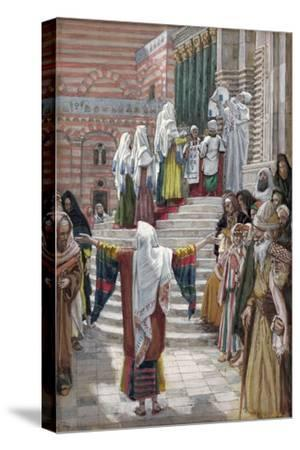 The Presentation of Christ in the Temple, Illustration for 'The Life of Christ', C.1886-94